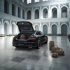 The Panamera Turbo S Exclusive Executive is scheduled to debut in November at the Los Angeles Motor Show