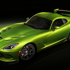 Stryker Green is a pearlescent lime green color that takes eight hours to apply