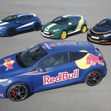 Renault Builds Special F1-Liveried Versions of Megane R.S