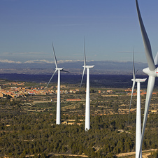 Most of the energy will come from wind turbines