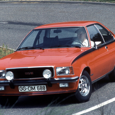 Opel Rekord D Turns 40