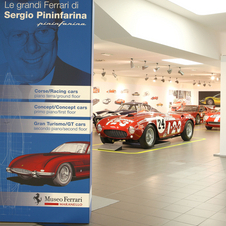 The exhibit gets an extra month at the Ferrari Museum