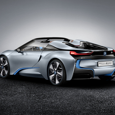 The i8 has a CFRP body with a range-extending engine working as a generator for the electric motor