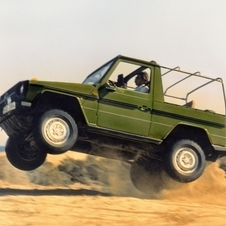The G-Class was first sold to the public in 1979