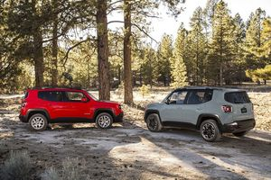 In Europe the Renegade will be sold with a range of three petrol and two diesel engines