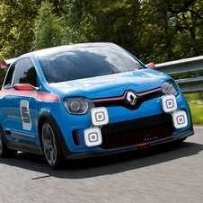The Twin'Run concept showed the performance ideal of the next Twingo