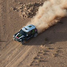 Mini is hoping for a third consecutive victory in the Dakar Rally