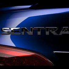 The Sentra logo has been slightly updated