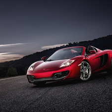 McLaren has also started to develop a new supercar that will sit between the 12C and the P1