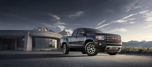 The Canyon is the platform-mate of the Chevrolet Colorado