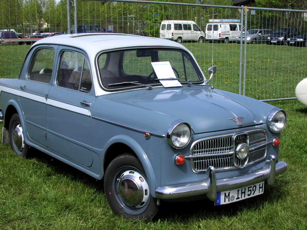 Fiat 1100-103 TV Saloon
