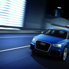 The RS Q3 shares an engine with the Audi TT RS