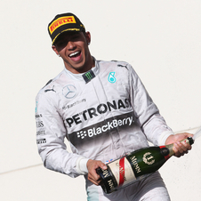 Hamilton increased to 24 points his lead over Rosberg on the championship