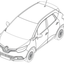 The image is very similar to this patent image of the Captur