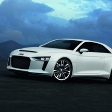The Quattro Concept had over 400hp, but the production version will probably have a little less