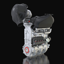 The Nissan DIG-T R will be the first three-cylinder engine to be used in major international motorsport