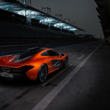 The P1 features active aerodynamics