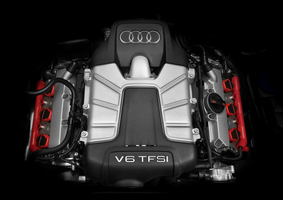 The engine is Audi's 3.0 TFSI
