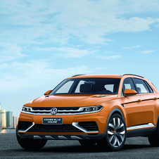 The CrossBlue Concept is the latest in Volkswagen's Cross family of concepts