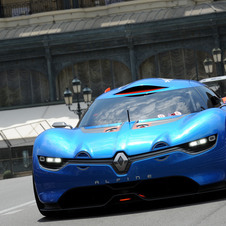 The A110-50 mixed the Renault Dezir concept and a Renault V6