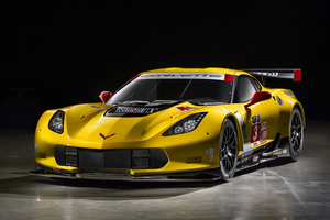 The C7.R will make its racing debut at the Rolex 24 at Daytona