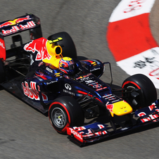 Webber was the second fastest in today's qualying session