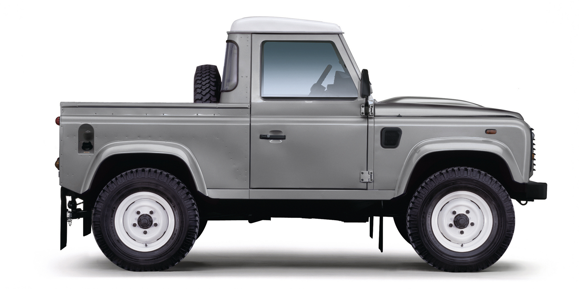 Land Rover Defender 90 Pick Up Slideshow Autoviva Com