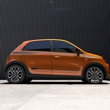 In terms of design the Twingo GT was inspired on the 2013 Twin'Run concept