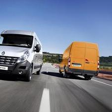 Renault Master Chassis Cabina Simples Propuls�o L3 3,5T 2.3 dCi 125cv Rod. Duplo
