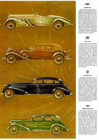 Esquire's 1935 Automobile Parade
