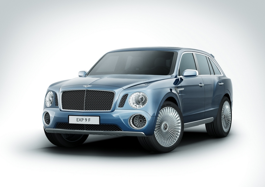 Bentley Exp F Suv Brings Uber Luxury To Suv News Autoviva Com