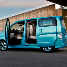 Nissan E-NV2000 Shows Concept for Future Electric Minivan