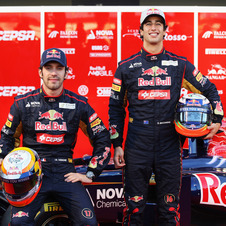 It is both drivers first year at Toro Rosso