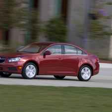 The Cruze is among Chevrolet's best sellers in North America and Europe
