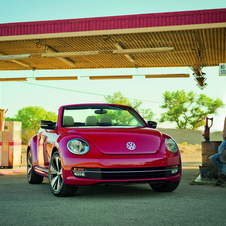 Volkswagen's latest debut is the Beetle Convertible