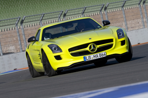 The SLS AMG E-Cell is due next year