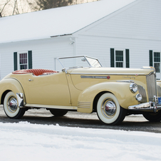 Packard Super Eight 180 Convertible Victoria by Darrin