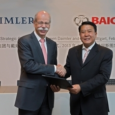 Daimler Chairman Dr. Zetsche signed the deal