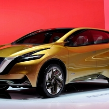 Nissan showed the Resonance in Geneva to preview the Rogue's look