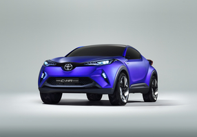 The C-HR has a new diamond architecture styling theme