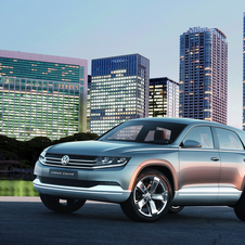 Future SUV concept from VW debuts in Tokyo