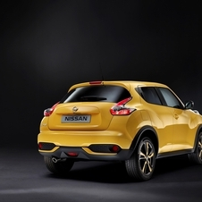 The new Juke will go on sale across Europe in the summer, 2014