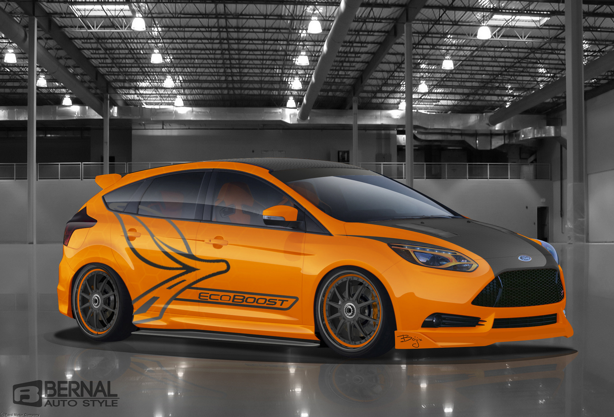 Ford Pushes Focus ST Fusion and Escape at SEMA slideshow