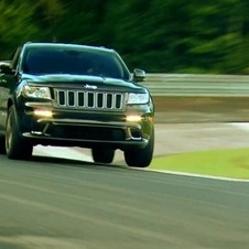 Jeep Cherokee SRT8 Does 8:49 Lap around the Nürburgring