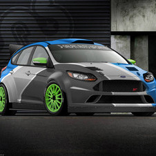 Galpin Auto Sports built this ST inspired by Ford's rally cars