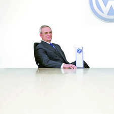 Winterkorn announced the plan to sell 10 million cars a year by 2018