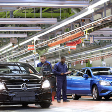 Mercedes is on track to break its production record this year