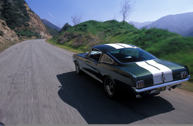 Ford Mustang GT 350 Shelby