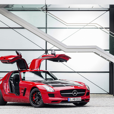Mercedes is already building the final edition of the SLS AMG GT