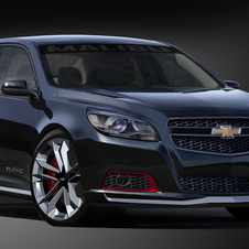 The Malibu Turbo Concept drops a more powerful turbo into the new Malibu